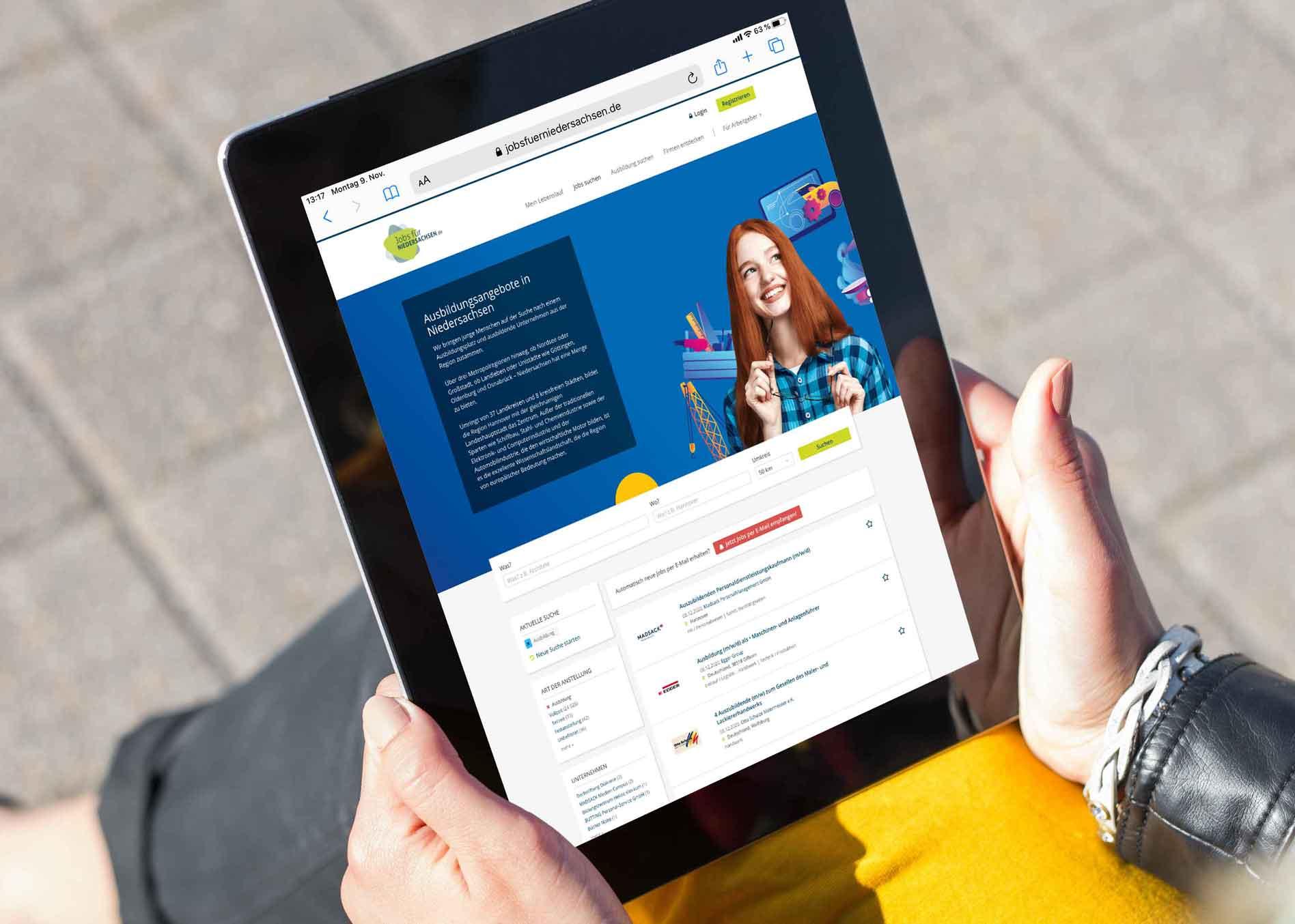 maz-job.de Online Ausbildungsanzeigenbild