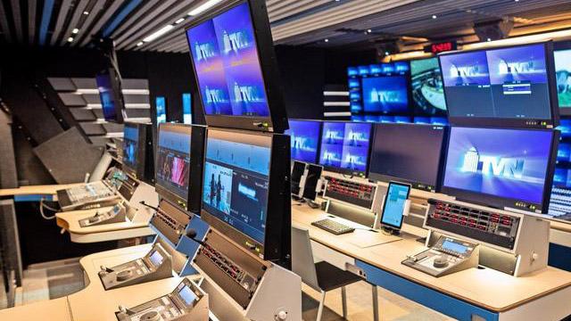 Ansicht des TVN Übertragungsraumes